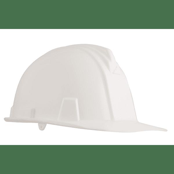 casco dielectrico con rachet de cuatro puntos de apoyo