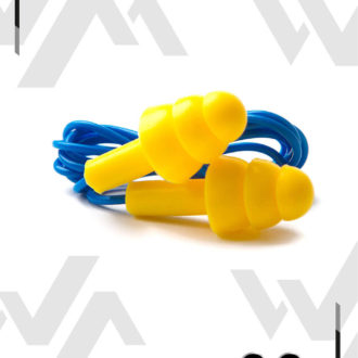 Protector Auditivo Anillos, reutilizable con cordón NARA SAFE (26 dB)