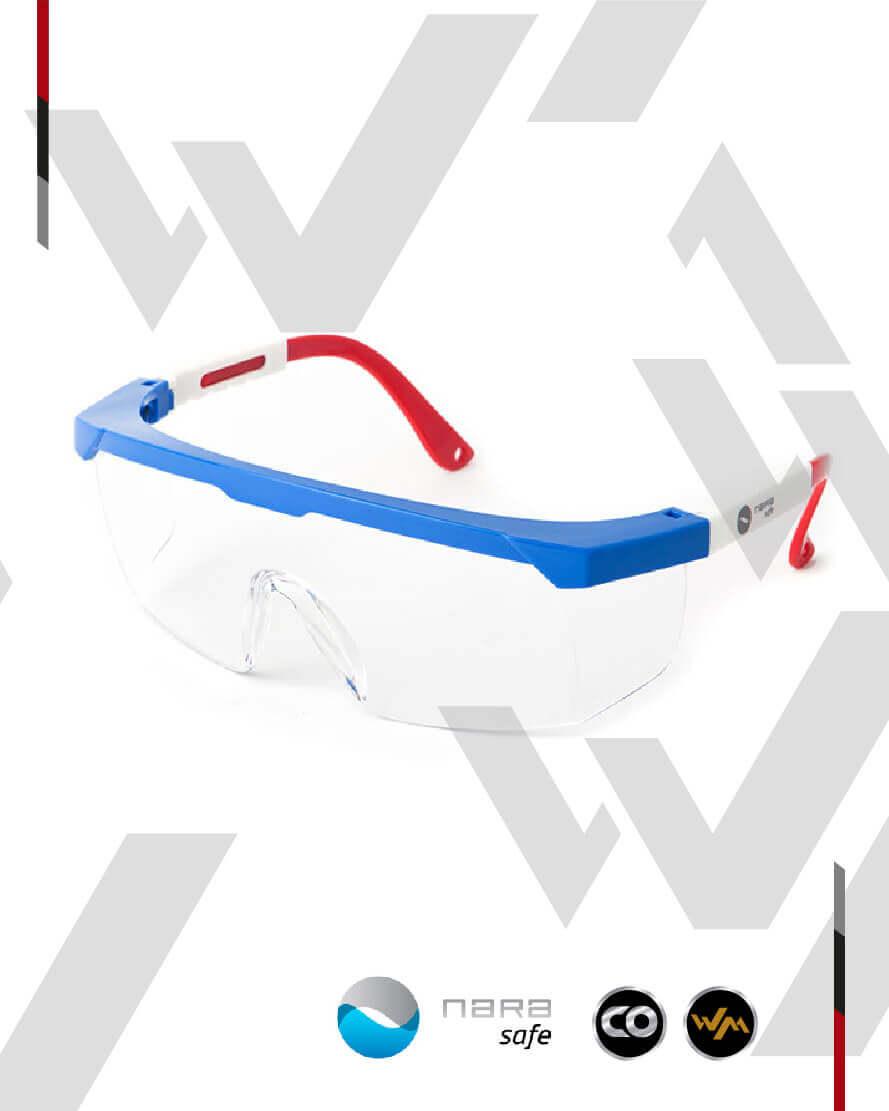 Gafas de Seguridad con Protección Lateral (NARA SAFE)